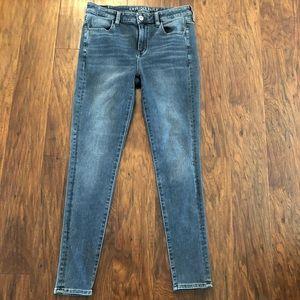 American Eagle Medium Wash Super Stretch X Jeans